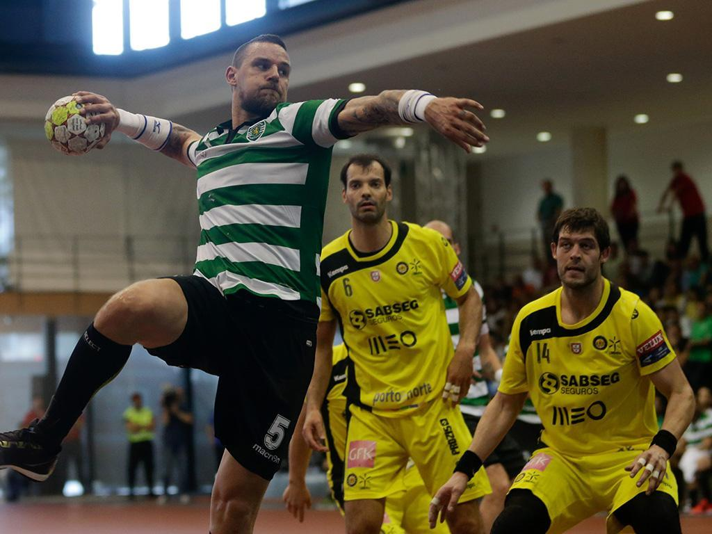 Andebol: Sporting-ABC (Lusa)