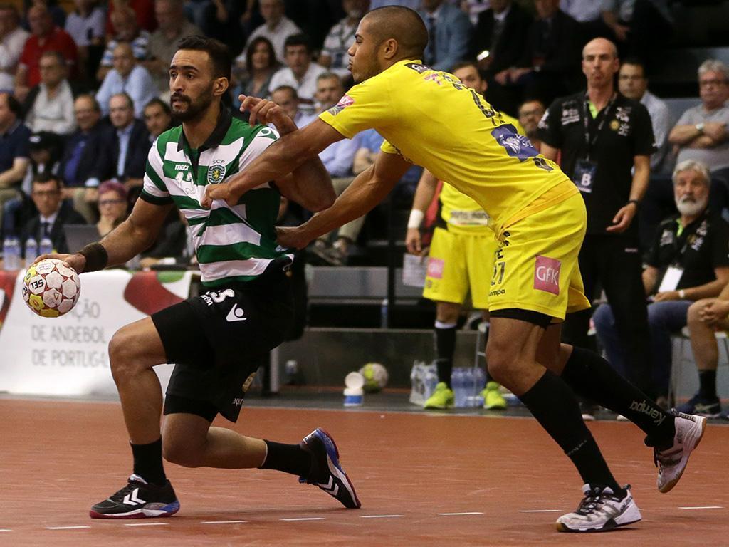 Andebol: Sporting-ABC (Lusa)