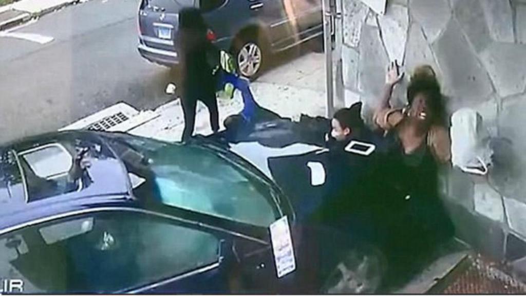 Mulher e criança sobrevivem a atropelamento brutal