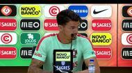 «Cristiano Ronaldo vem cheio de vontade»