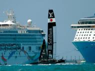 America Cup: grandes imagens no mar das Bermudas