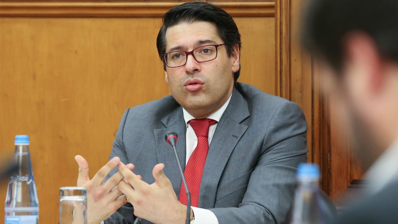 Mourinho Félix - secretário de Estado adjunto e das Finanças