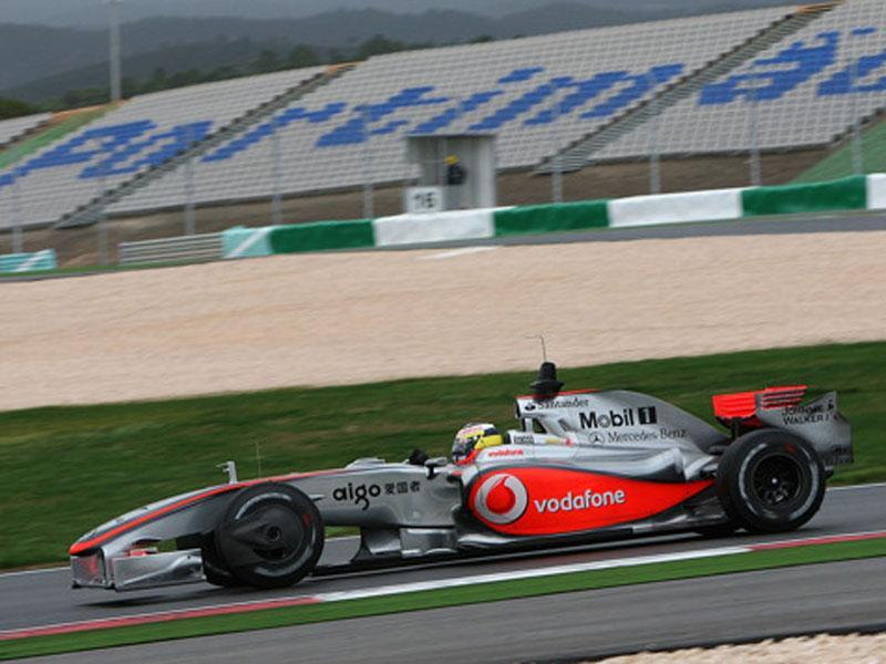 McLaren no Autódromo do Algarve (2009)