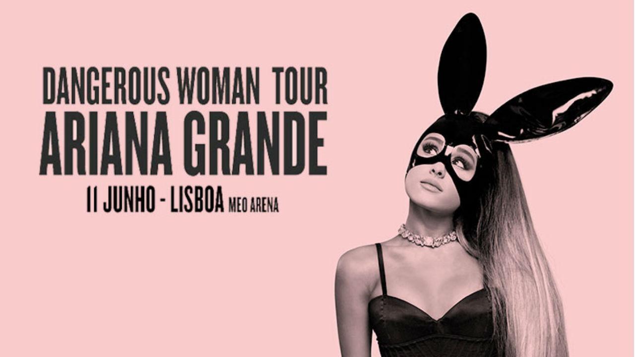 Ariana Grande em Portugal