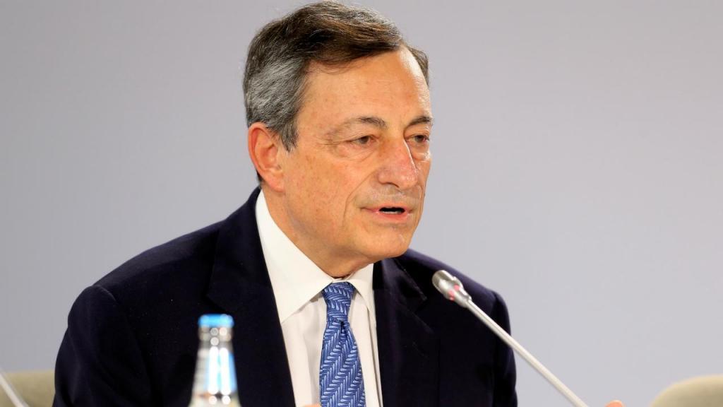 Mario Draghi - Banco Central Europeu