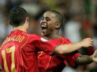 Cristiano Ronaldo e Jorge Andrade