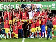 Benevento sobe à Serie A