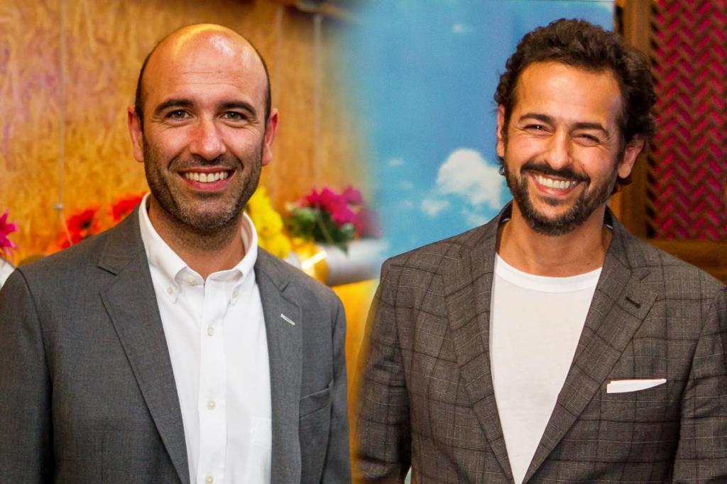 Joaquim Horta e Gonçalo Diniz