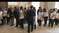 Leoas homenageadas na Câmara de Lisboa