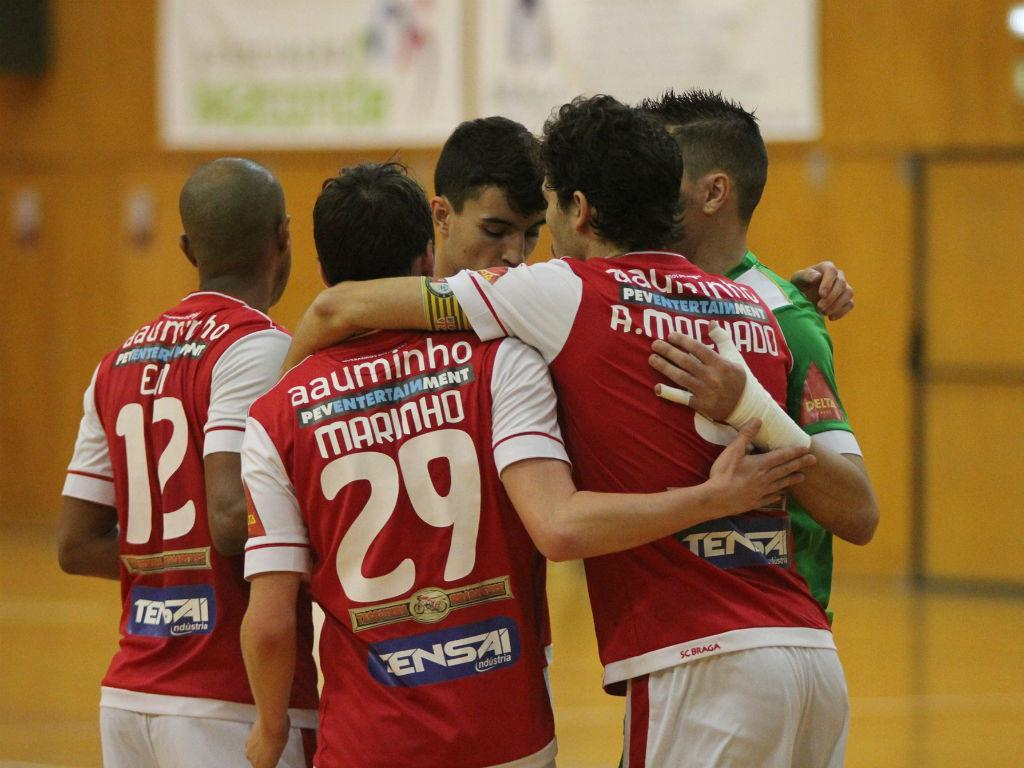 Sp. Braga na final do campeonato de Futsal