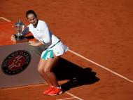 Jelena Ostapenko vence Roland Garros (Reuters)