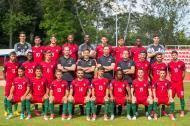 Foto oficial da seleção sub-21 para o Europeu (fonte: FPF)