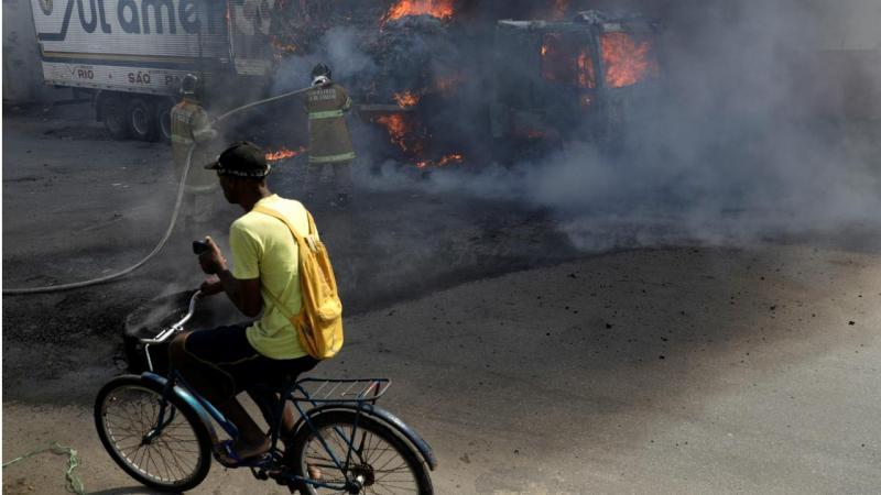 Brasil - Tumultos