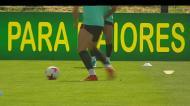 Seleção: Ronaldo já pisou relvado no segundo treino