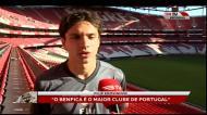 Krovinovic apresentado no Benfica