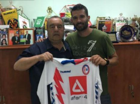 Gerardo Berodia (twitter do Rayo Majadahonda)