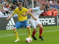 Sub-21: Suécia-Inglaterra (LUSA)