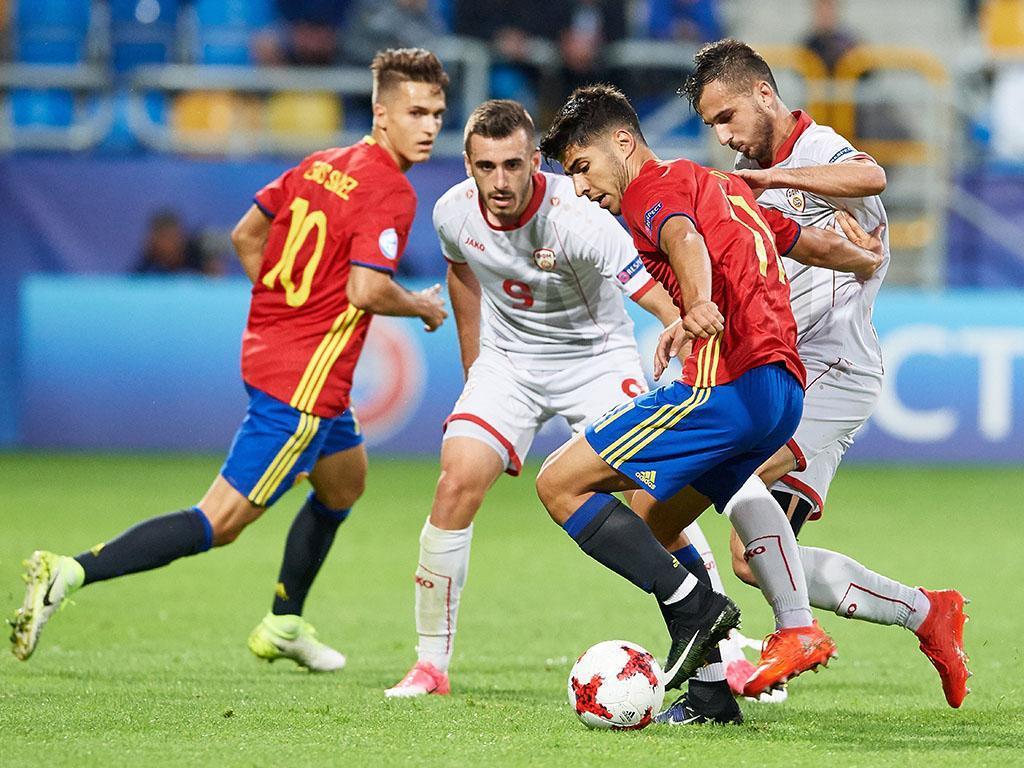 Espanha-Macedónia (Lusa)