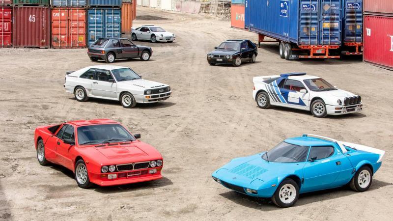 Coleção carros Grupo B