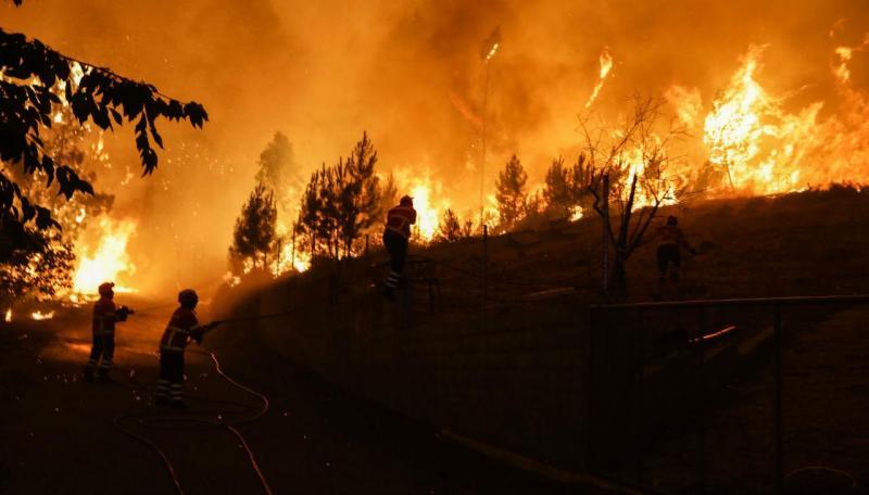 Incêndio na Pampilhosa da Serra