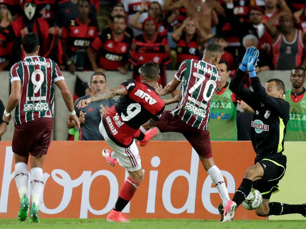 Fluminense-Flamengo (Reuters)