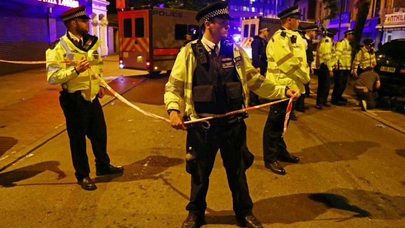 Incidente com carrinha em Londres