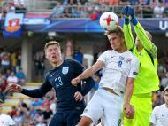 Sub-21: Eslováquia-Inglaterra (Lusa)