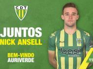 Nick Ansell (site oficial do Tondela)