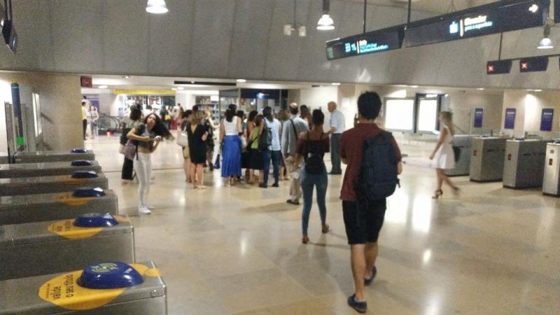 Linha azul do metro de Lisboa