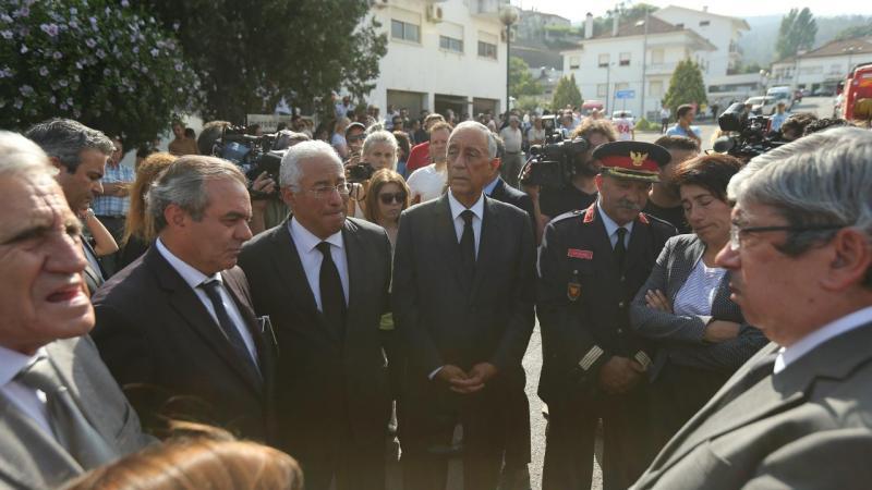 Funeral do bombeiro de Castanheira de Pera