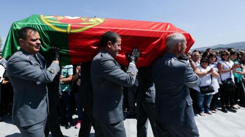 Funeral do militar morto no Mali