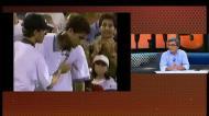 A maratona de Sampras que vomitou mas venceu no US Open