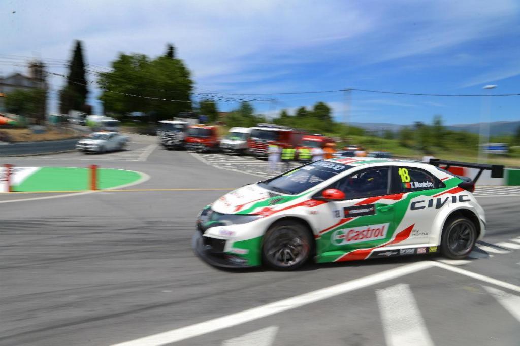 Tiago Monteiro WTCC Vila Real