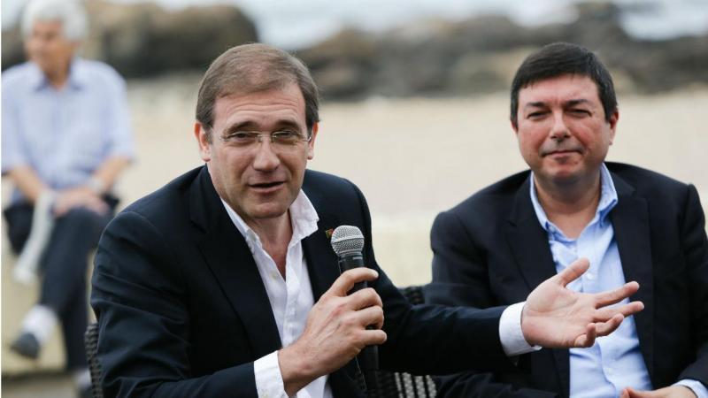 Visita de Passos Coelho ao Porto