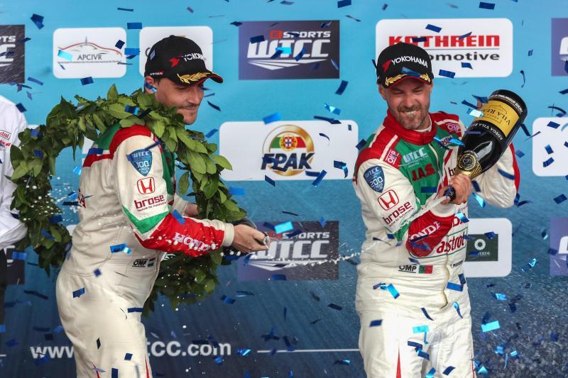 Norbert Michelisz e Tiago Monteiro