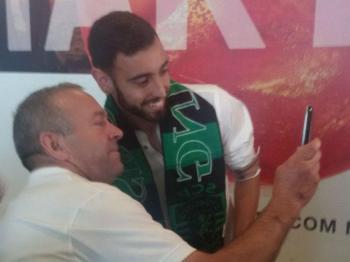 Sporting: Bruno Fernandes em Lisboa para assinar