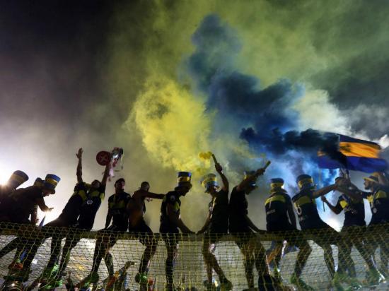 Boca Juniors: drone e 66 estrelas na festa do título