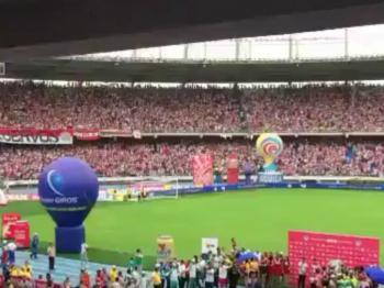 INCRÍVEL: 45 mil pessoas no estádio para ver Teo Gutiérrez