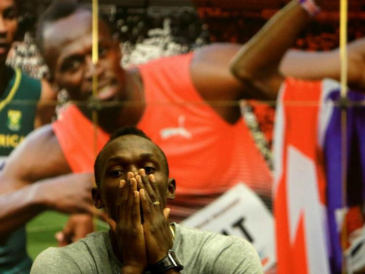 Bolt a ser Bolt antes do meeting de Ostrava