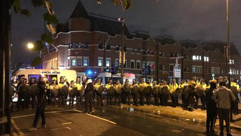 Londres - protestos em Forest Gate contra morte de português