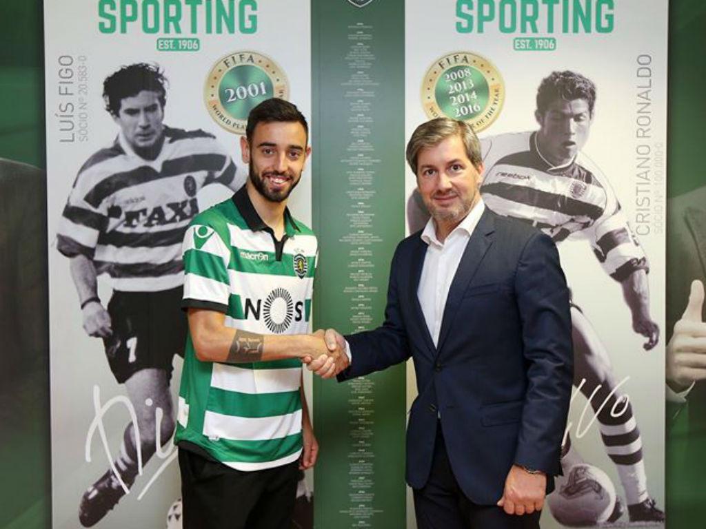 Bruno Fernandes já é jogador do Sporting