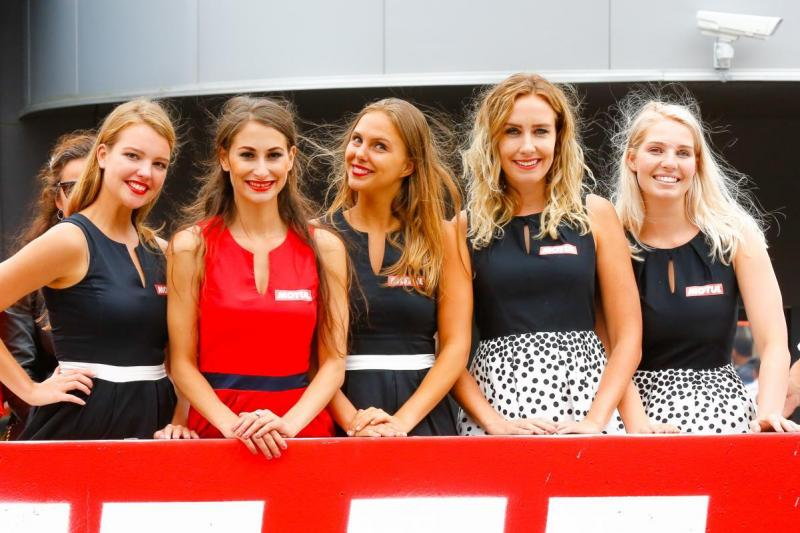 Grid Girls do MotoGP