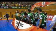 Sporting campeão: João Matos levanta a Taça em Braga