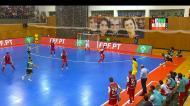 Futsal: os golos do título do Sporting em Braga