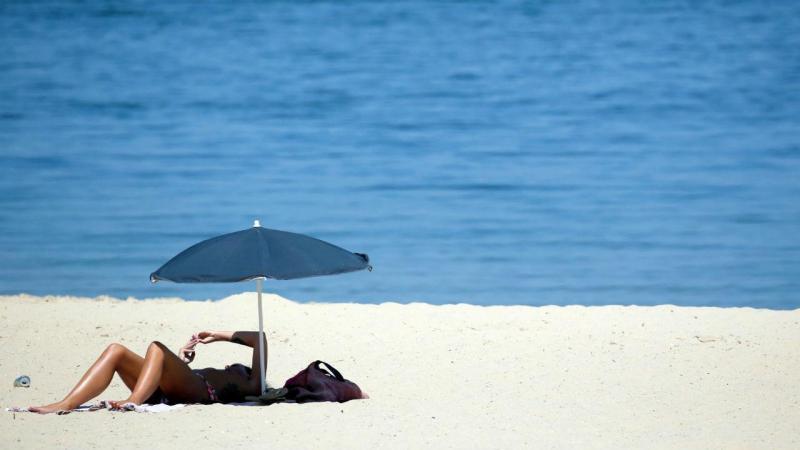 Água do mar atingiu temperaturas elevadas