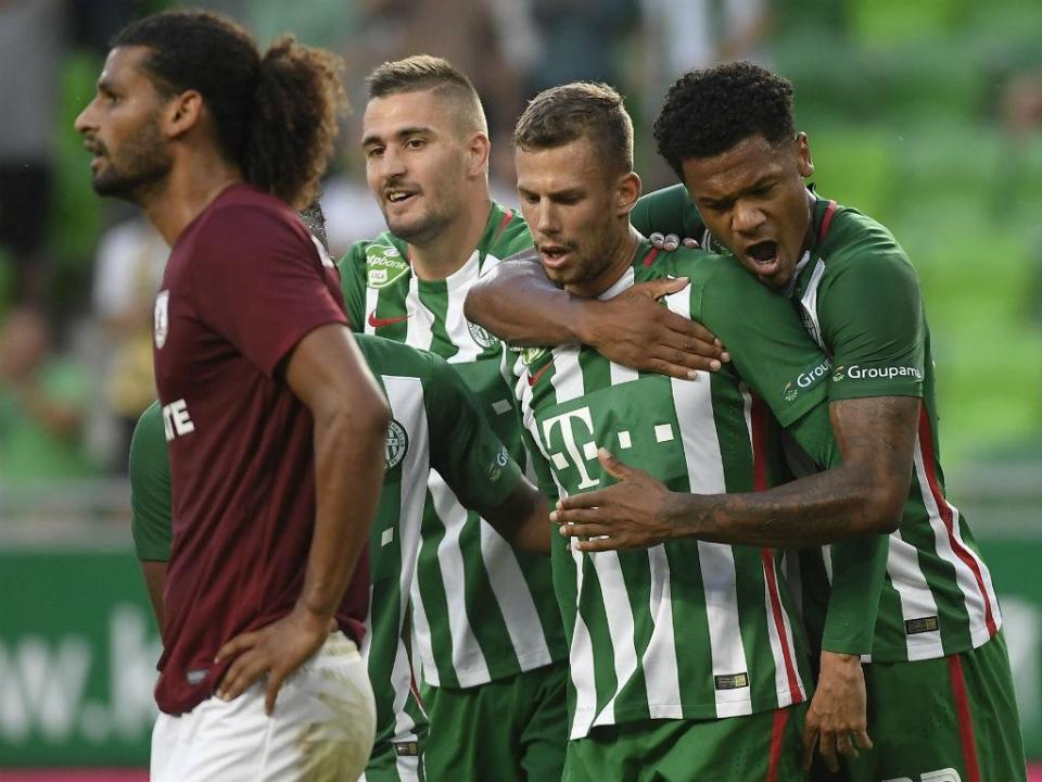 Hungria: Ferencvaros castigado após incidentes graves no estádio