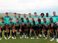 Sub-19: seleção na Geórgia (Foto FPF)