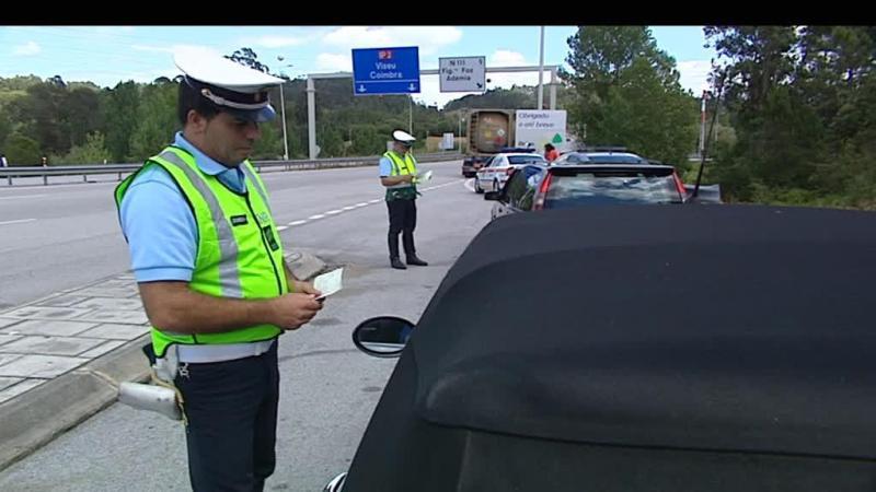 GNR reforça patrulhamento de vias com mais trânsito