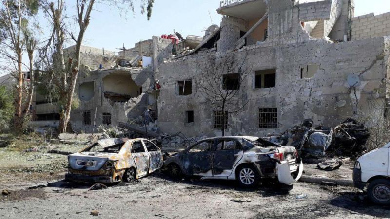Atentado suicida na Síria