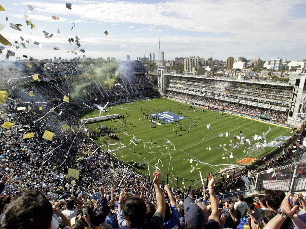 7 - La Bombonera, Argentina (Reuters)